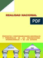 Realidad Nacional Ppt