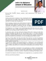 DepEd - Secretary Bro. Armin Luistro - 2013 Graduation Message