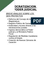 Democratizacion Del Poder Judicial