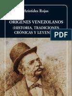 Aristides Rojas.origenes Venezolanos