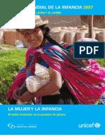 Estado Mundial de La Infancia 2007