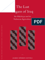 The Last Pagans of Iraq Ibn-Wahshiyya and His Nabatean Agriculutre