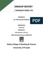 43069201 Internship Report ZTBL Hailey College