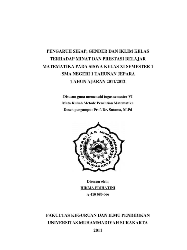 Contoh Proposal Skripsi Kuantitatif Pendidikan Bahasa Inggris Berbagi Contoh Proposal