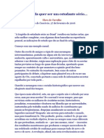 Olavo-de-Carvalho - Artigo se você ainda quer ser um estudante sério