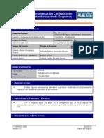 Docum Config Estandarizacion Esquemas