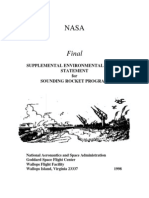 NASA Environmental Impact Statement