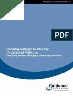Utilizing Entropy to Identify Undetected Malware