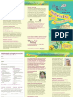 Wellbeing Day Brochure 2013