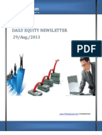 Equity Market Updates 29-August
