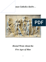 Do Roman Catholics KnOw about the 5 Ages of Man?