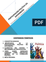 Participación política en enfermería