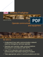 Operate Communications Systems and Equipment_0_0