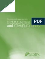 Principles for Community Engagement 2006