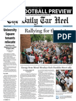 The Daily Tar Heel for August 29, 2013