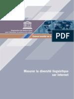 Mesurer la diversité linguistique sur internet