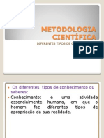 METODOLOGIA CONHECIMENTO.ppt