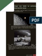 Japón concluye con éxito su primera misión de observación lunar