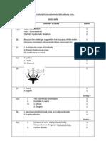 Peraturan Permarkahan Percubaan Pmr