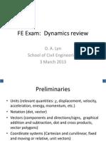 Dynamics Review 2013