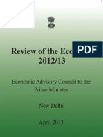 Review of Indian Economy 2012 -13