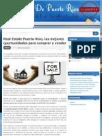 Real Estate Puerto Rico, Las Mejores Oportunidades Para Comprar y Vender