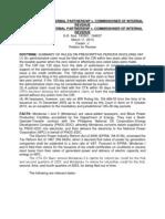 Tax Rev Digest Mindanao II Geothermal Partnership v Cir