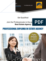 OUM Brochure Proffesional Diploma in Real Estate Agency