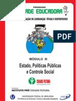 APOSTILA MODULO 3 - CURSO DE LIDERANÇA  2013 - ESTADO