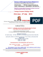 Training Course Mumbai June 2013 & Correspondence Courses