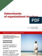Supernat_Determinants of Organizational Structure