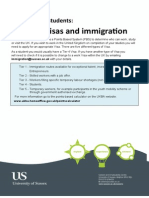 International Students guide to Visas and Immigration