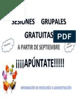 Ficha Sesiones Grupales