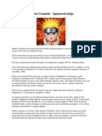 Naruto Uzumaki – luptatorul ninja