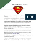 Cel mai iubit erou de actiune – Superman