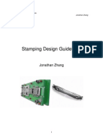 Stamping Design Guideline