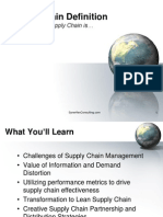 Supply Chain Defnition - Learn what supply chain management is...