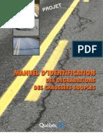 Manuel Des Degradations Des Chaussees Souples