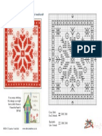 Snowflake Cross Stitch Chart