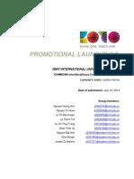 icp - koto promo - communication plan - final