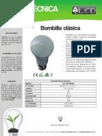 Bombilla Clasica - BOC3DIPHNA60