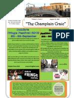 Champlain Craic August 2013
