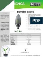 Bombilla Clasica - BOC5STRC05