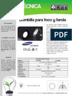 Bombilla Para Foco y Farola - BF120SA y BF150SA