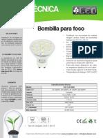Bombilla Para Foco - BOF2,2ST5050