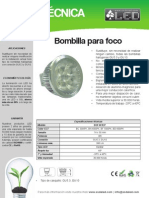 Bombilla Para Foco - BOF4X1EP
