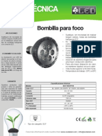 Bombilla Para Foco - BOF7X2EPP30