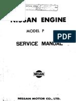 Service Manual Nissan Engine Model P