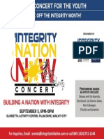 Integrity Initiative - Integrity Concert