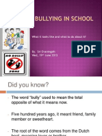 Bullying Presentation_ by Ova